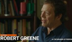 "Image for Robert Greene Interview, Part 2 ""The Meaning of Freedom"" (Video)"