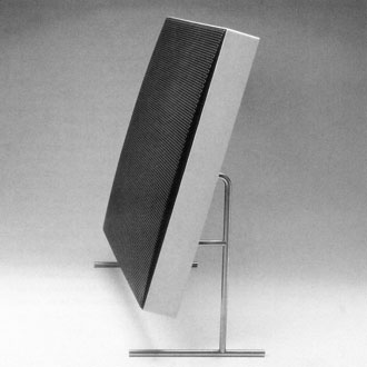 Looks a lot like an iMac... it's a speaker designed by Rams