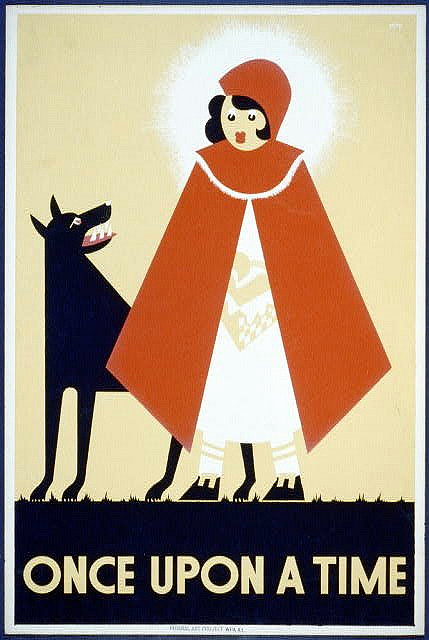Little Red Riding Hood: One of the most iconic fairy tales of all time. Image credit: The New Ruffian, Creative Commons.