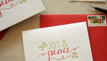 Christmas Card Etiquette