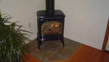 Free-standing Gas Fireplaces