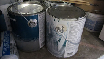 Disposing Of Paint