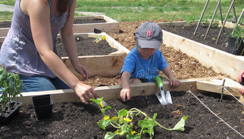 Green Thumbs And Little Ones