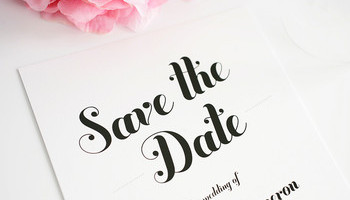 Save The Date In Style