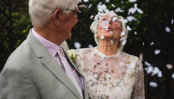 90-year-old Newlyweds