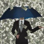 money-umbrella