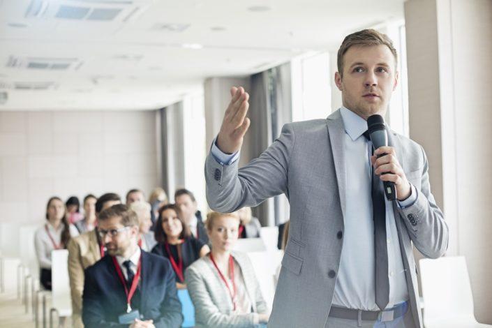 Public Speaking Business Goals