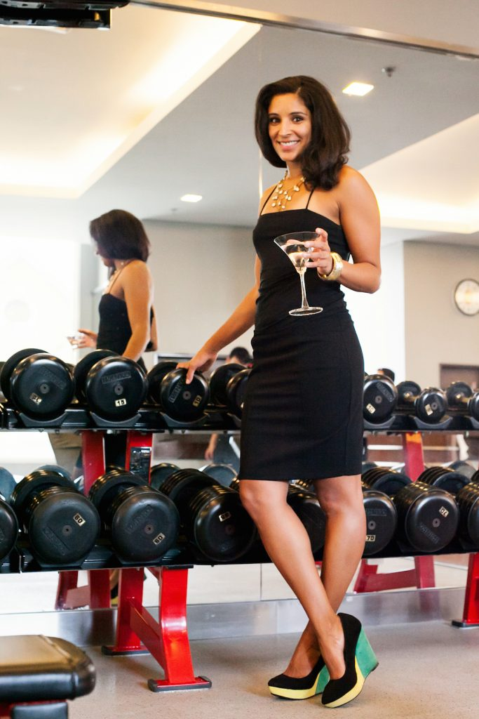 rupa mohan the sweat social weight room black dress new orleans fitness workouts bootstrapper