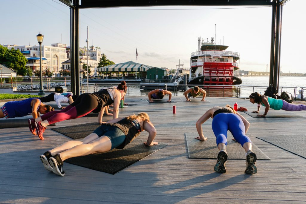 the sweat social new orleans workout vacation fitness rupa mohan
