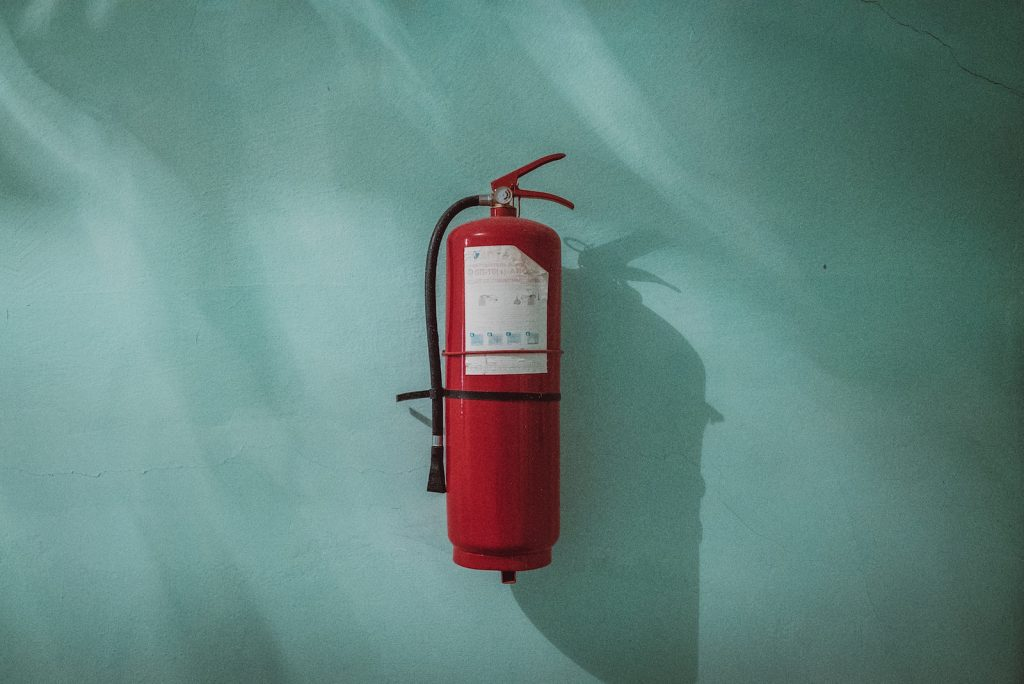 fire extinguisher emergency small business loans