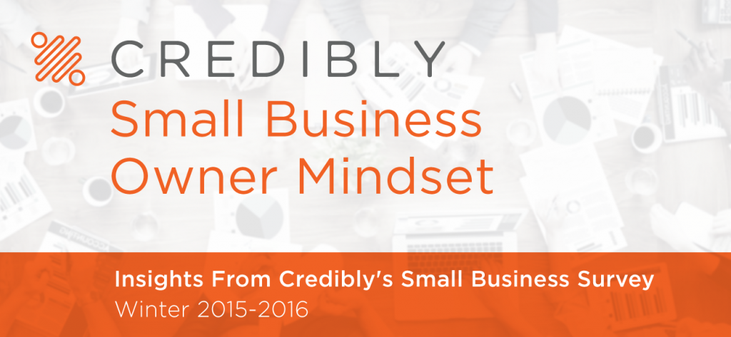 credibly small business owner mindset survey insights