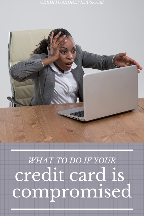 Credit card compromised? Here are the five steps you should take if you notice fraudulent activity on your credit card account(s), and why.