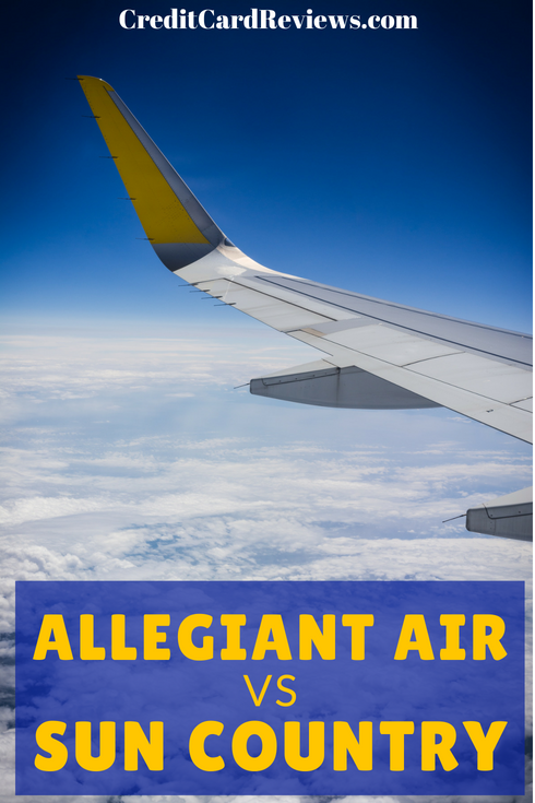 Allegiant Air and Sun Country Airlines are two low-cost carriers that offer credit cards that surprisingly aren't the most budget-friendly cards. Nevertheless, they come with some nice perks if you fly frequently enough.