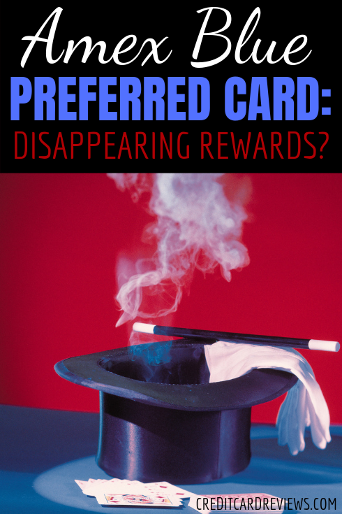 "While American Express hasn't said anything about eliminating any of the rewards offered by the Blue Cash Preferred card, they seem to be ""avoiding"" one of the categories in all of their new marketing material."