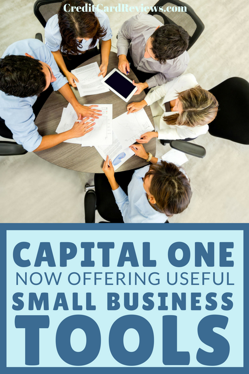 While Capital One is well known for its personal credit card commercials, the financial company also provides many bank products that small businesses can take advantage of.