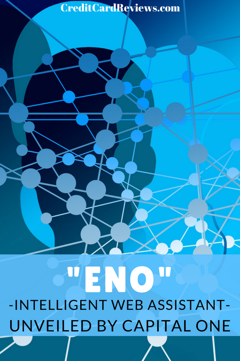 Eno, the new intelligent assistant from Capital One, detects online merchants' checkout pages. A popup will appear and Eno will create a temporary credit card number in real time, which you can use to make your online purchase safely.!