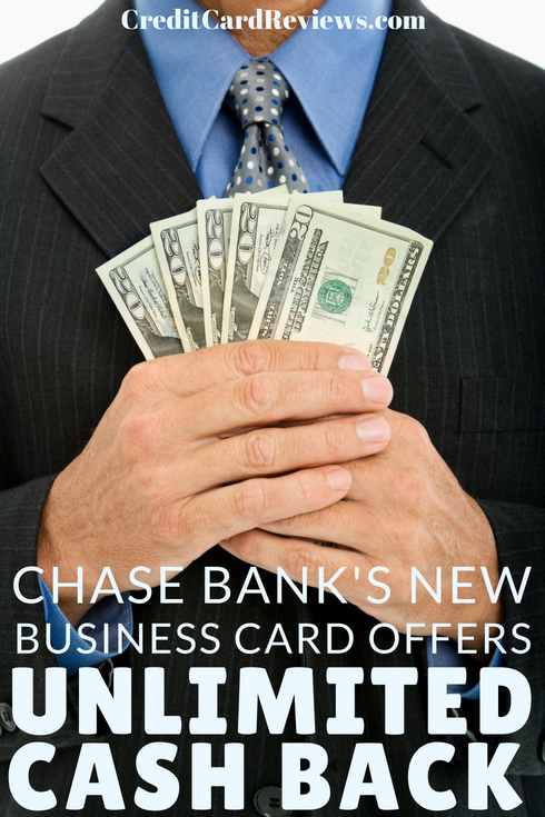 Chase Bank's newest addition to their credit card lineup is the Ink Business Unlimited Card. Users get 1.5% cash back on every purchase without category restrictions or rewards limits. There's no annual fee and card users can redeem rewards at any time.
