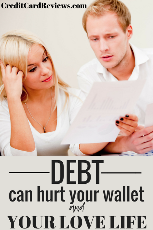You already know how much damage credit card debt can do on your wallet. The interest alone easily add up to hundreds – if not thousands -- of dollars a year! But do you also realize just how much of an impact it can have on your love life?