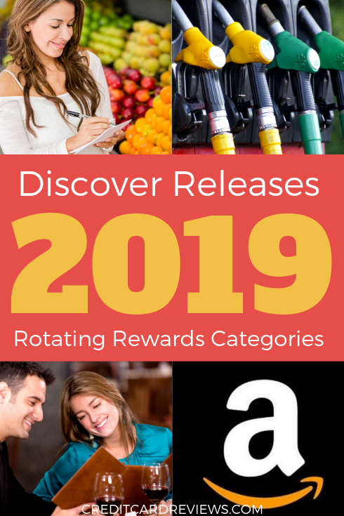 Discover just released its entire rewards calendar for 2019, allowing cardholders the chance to plan their year.