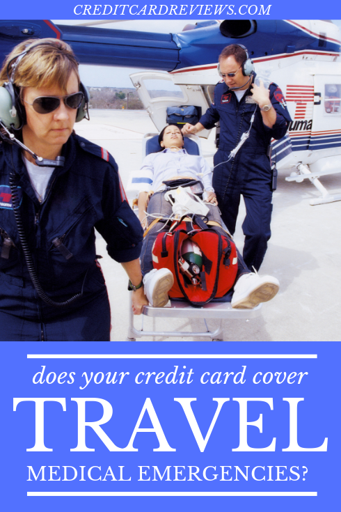 Whether you're just visiting another city or traveling in a foreign country, the doctors, facilities, and even the medications you're accustomed to aren't within reach. This is when the right credit card can step in to make all the difference in the world.