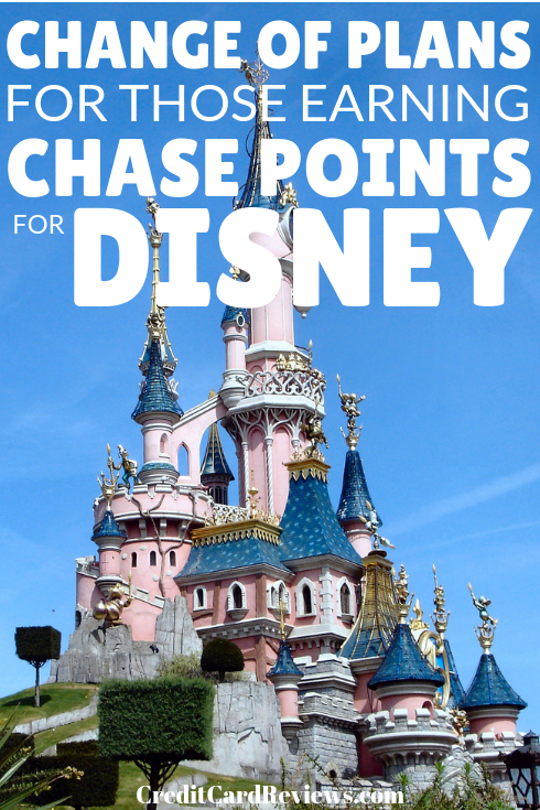 If you've been saving up Chase Ultimate Rewards points to book that Disney vacation you've been dreaming of, you might want to change your strategy. It has just been announced that you can no longer use the Chase travel portal to book.