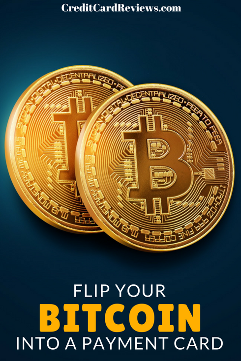 Wanting to flip your bitcoin into a payment card? Fit Pay might have the answer for you. Flip is a coin-shaped disk that connects to a digital wallet and uses the value in the wallet to make a contactless payment. Pretty sweet!