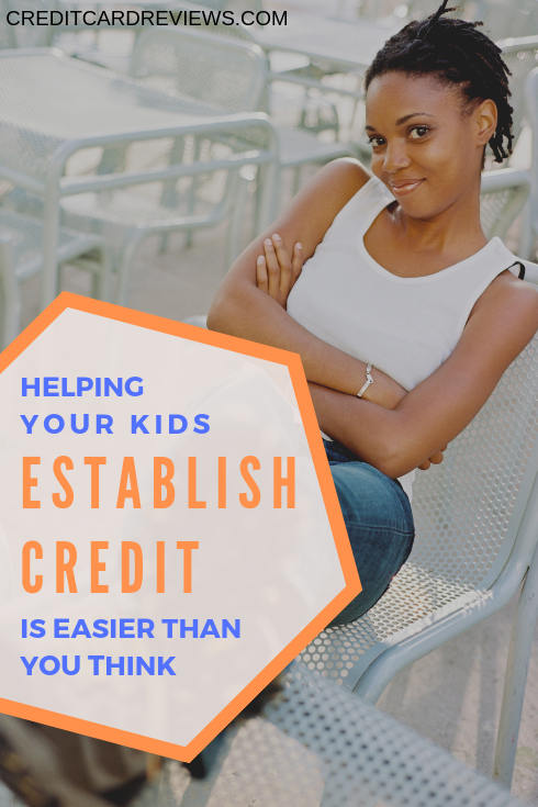 It might be hard to even think about your kids having credit reports and credit scores, right now. The fact, though, is that sooner rather than later their credit rating could make the difference in how far they go, and how fast they get there, once they're out of the nest.