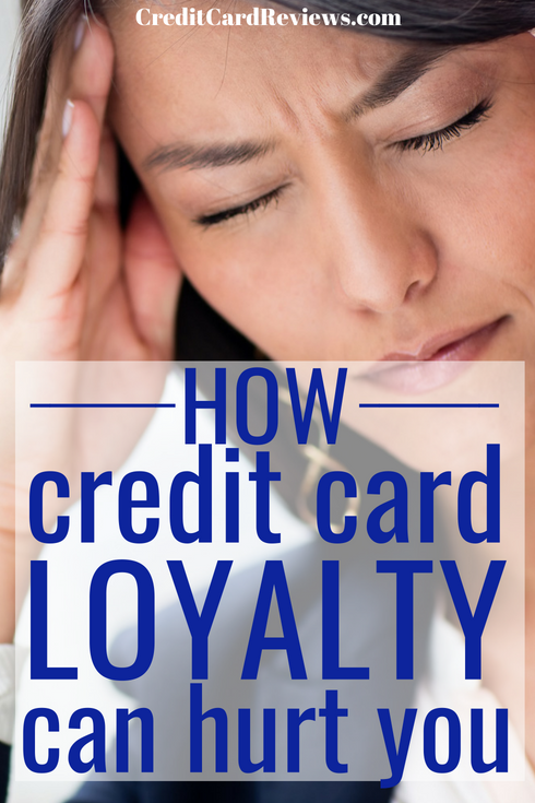 Now, let me start by saying that I have nothing against loyalty; in fact, I value it in almost every area of my life. When it comes to credit cards, though, being too loyal can cost you quite a bit.