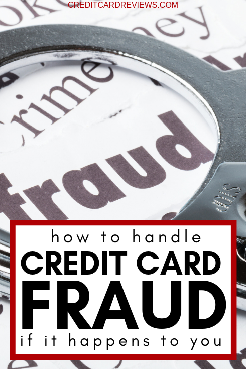 Almost half of Americans have been victimized by a credit card thieves in the past five years. Here's how to deal with it if it happens to you.