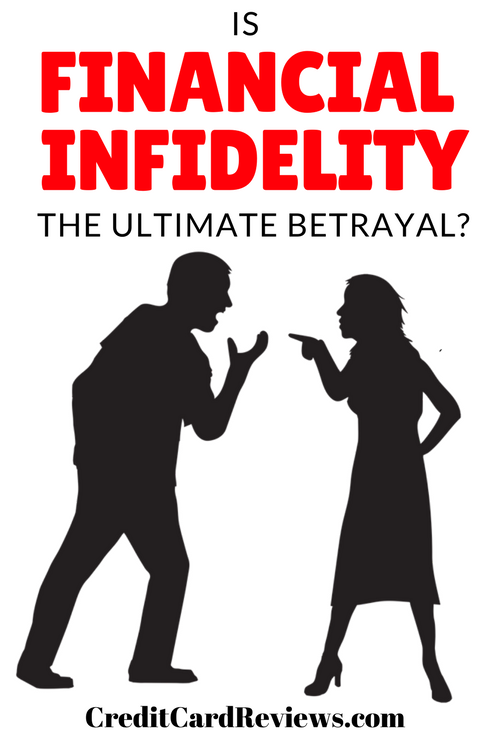 Most of us would never even think about cheating on our significant other. According to a recent survey, though, there's a type of cheating that many consider to be even worse than a workplace affair: financial infidelity.