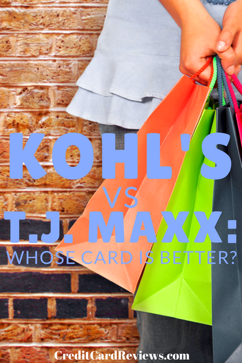 If you shop frequently for clothes and accessories at some of America's major retailers, you probably are aware of T.J. Maxx and Kohl's. Both companies offer credit cards that provide benefits for frequent shoppers.