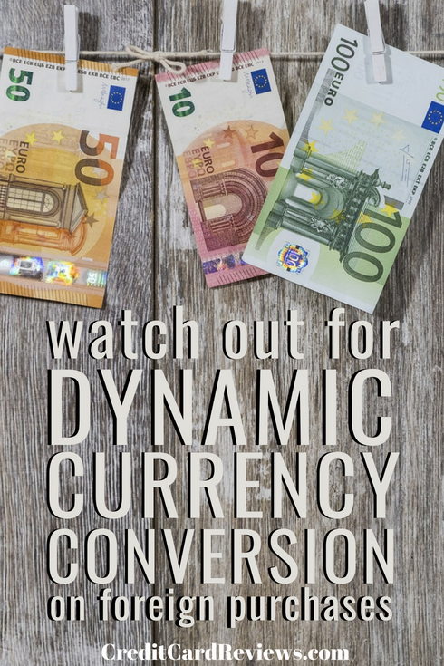 Whether traveling in another country or just buying something online from abroad, you have probably encountered dynamic currency conversion. Here's how to avoid it.
