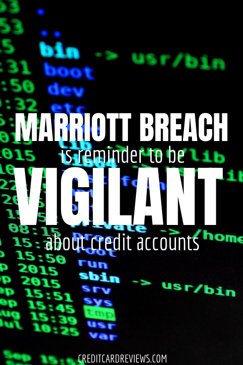 The latest financial breach comes courtesy of Marriott, which recently disclosed that half a billion guests' personal and financial information--including passport information for about 327 million and payment card information for some guests--had been vulnerable for four years.