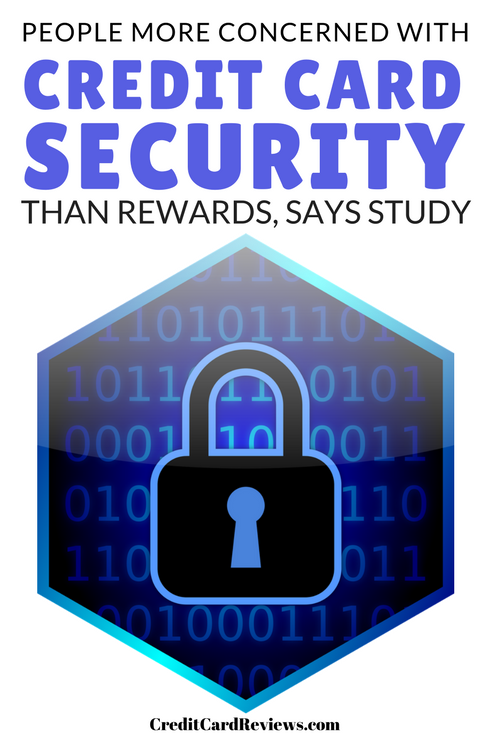According to a recent study by SmartMetric, U.S. consumers enjoy credit card rewards, but place security concerns above their desire to own a card that offers miles, perks, and cash back rewards.