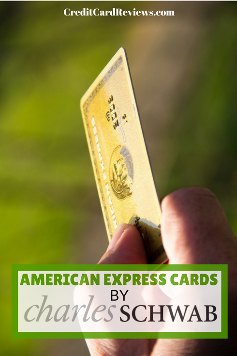 If you're in the market for a new American Express card, you may want to take a look at a couple of cards at Charles Schwab. While Schwab is better known for its stocks and bonds, the financial conglomerate also operates an FDIC-insured bank.