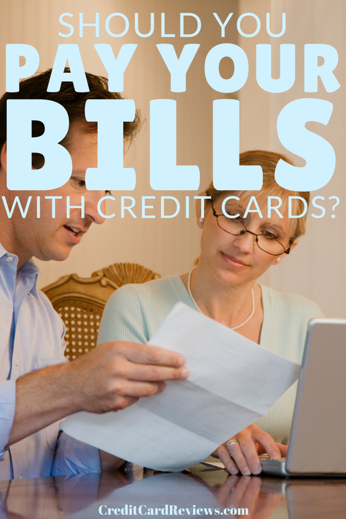 Paying a bill with a credit card can, at first glance, seem counterintuitive. After all, you're satisfying one debt by creating another. However, there are quite a few good reasons to pay monthly bills with plastic when you can.