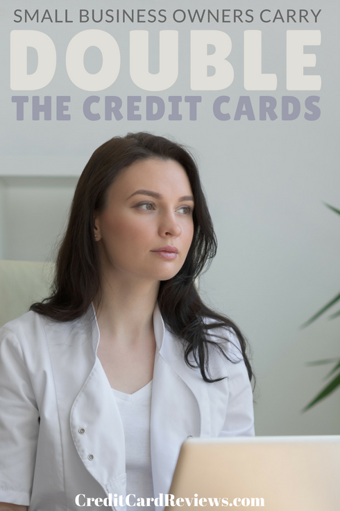 If you're a small business owner, you probably rely on a number of financial products to keep your business moving. Like most business owners in America, you probably also have quite a few credit cards in your arsenal.