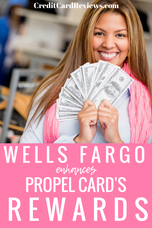 Wells Fargo has announced a new rewards structure for its Propel American Express credit card, rewarding cardholders who spend their money on dining, travel, and streaming services.