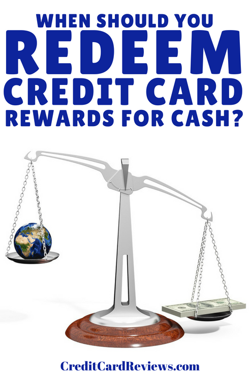 Most rewards cards will offer customers the ability to choose how they want to, ahem, cash in their earnings. And cash back (in the form of a check or statement credit) is almost always an option. But when, if ever, should you do it?