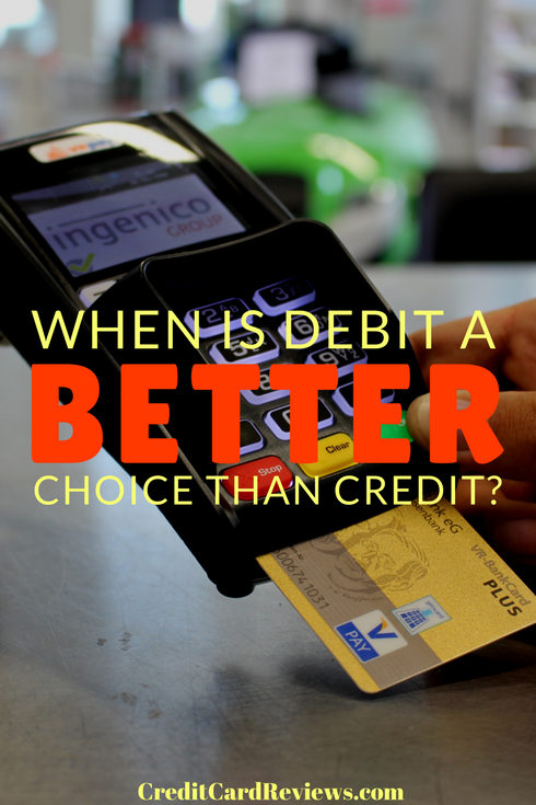 Credit or debit? You've likely been asked that hundreds of times at the register. Do you know which one you should be choosing, though? Let's talk about when it's smarter to choose debit over credit and vice versa.