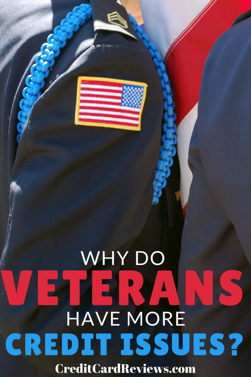 Military servicemen and women are, on average, known for being regimented and disciplined. It's interesting to learn, then, that a recent study found military veterans are more likely to have credit-related issues than their civilian counterparts.
