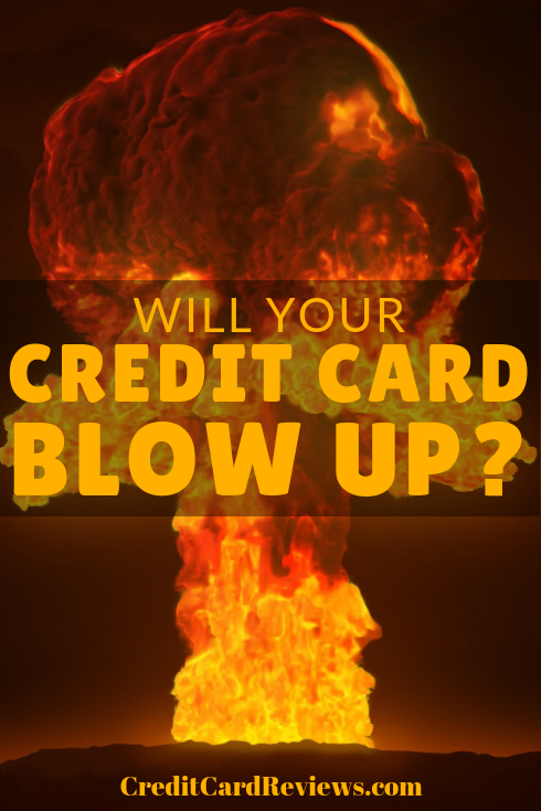 The idea that your credit card could blow up at any time is the subject of a new phishing scam reported by the blog Malwarebytes. It re-posted a picture it found on social media of a new apparent scam designed to steal credit cards.