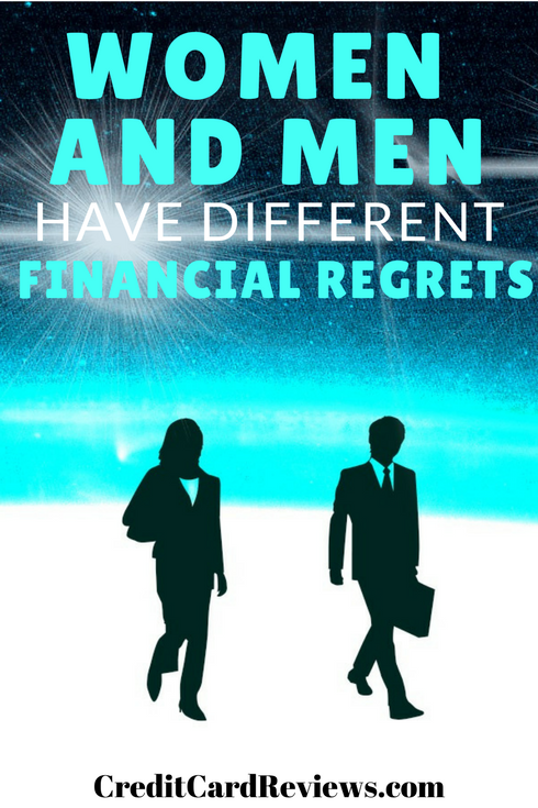 "A recent survey, conducted by GO Banking Rates, found that while everyone had financial regrets of some kind, the ones considered the ""biggest"" were different between the sexes. Let's take a look at what some of these regrets were, and how they differed among various groups surveyed."