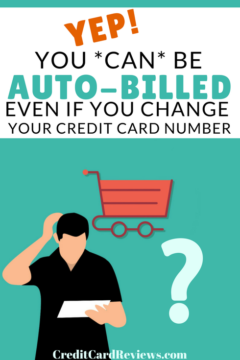 If you are under contract or otherwise agreed to be billed, but want out of the agreement? Can you simply change your card number to dodge the charge? Here are the details.....
