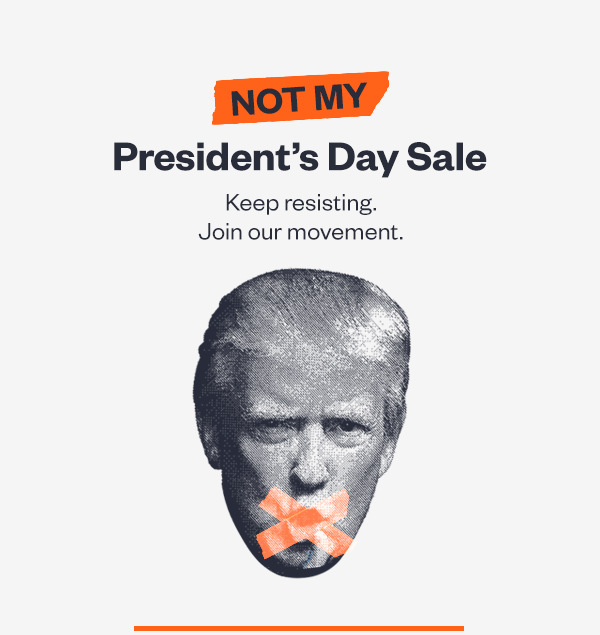 CREDO Mobile's Not My President's Day Sale.
