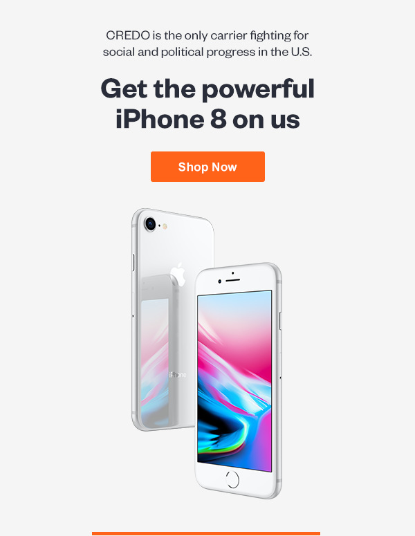 Get the powerful iPhone 8 on us