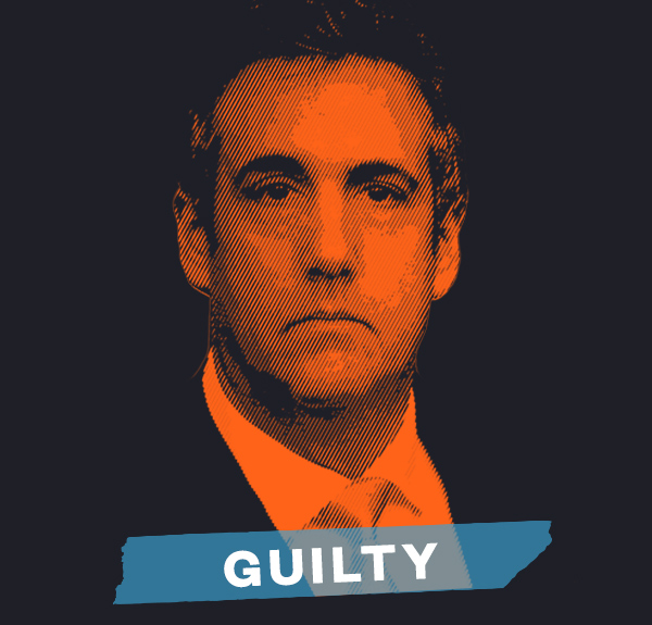 Michael Cohen. Guilty.