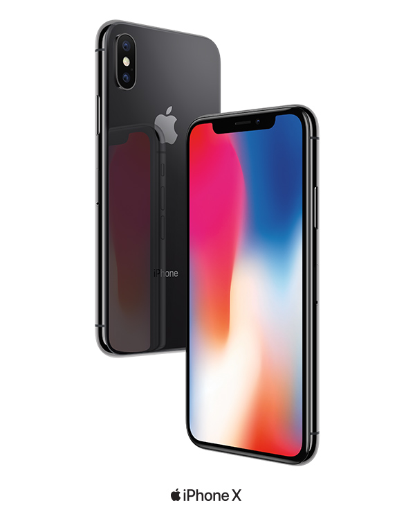 Shop Now. Image of the iPhone X