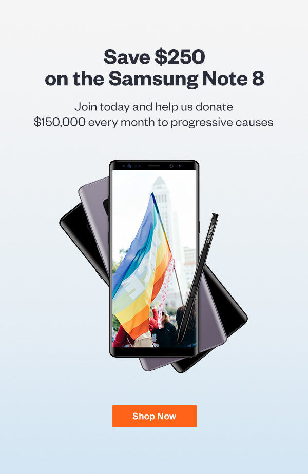 Save $250 on the Samsung Note 8 Click here to join now.