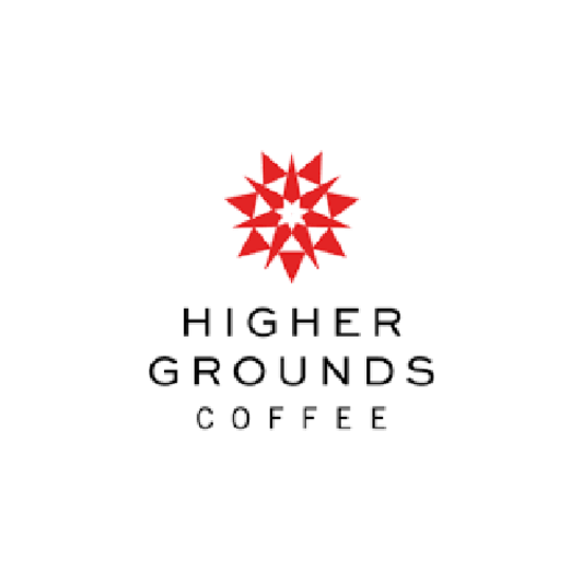 Higher grounds logo